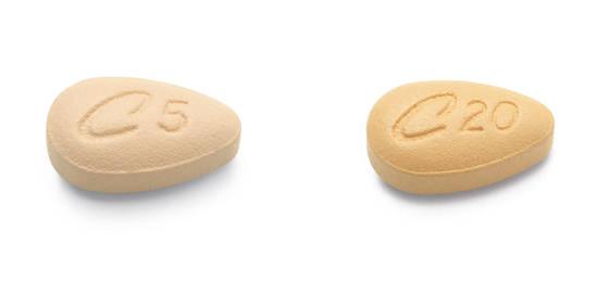 Cialis 5 mg y Cialis 20 mg